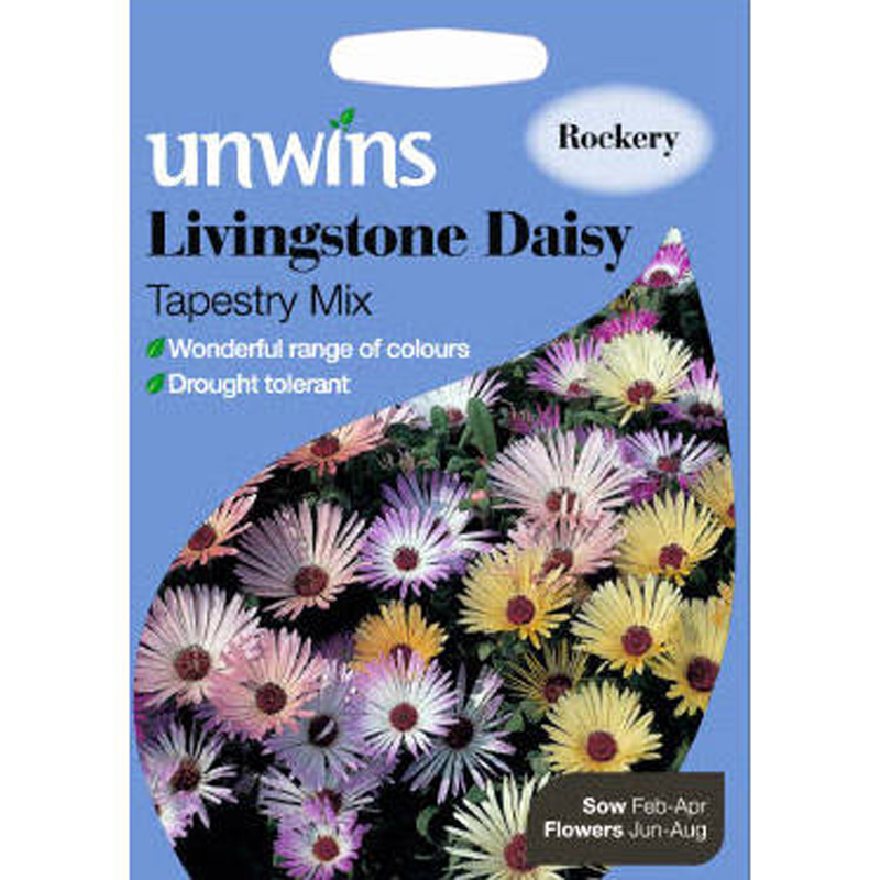 Picture of Unwins Livingstone Daisy 'Tapestry Mix' Seeds