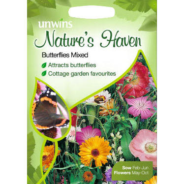 Picture of Unwins Natures Haven Butterflies Mixed Seed