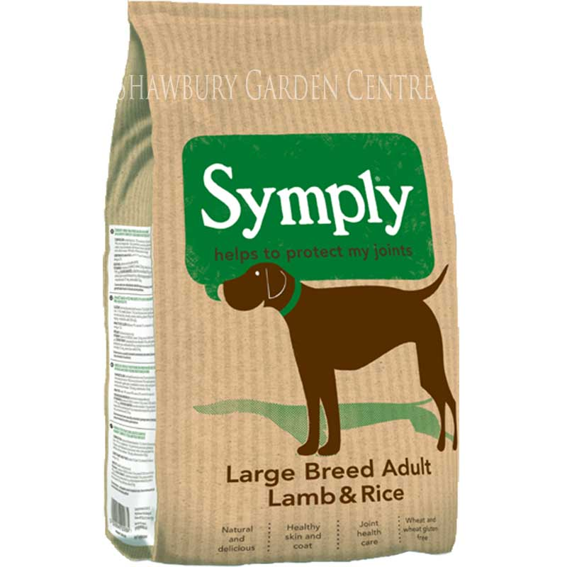 Picture of Symply Lamb and Rice Large Breed Dog Food