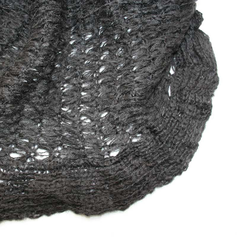 Picture of Black Knit Snood