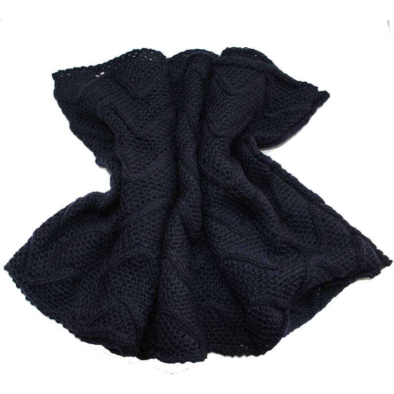 Picture of Navy Cable Knit Snood