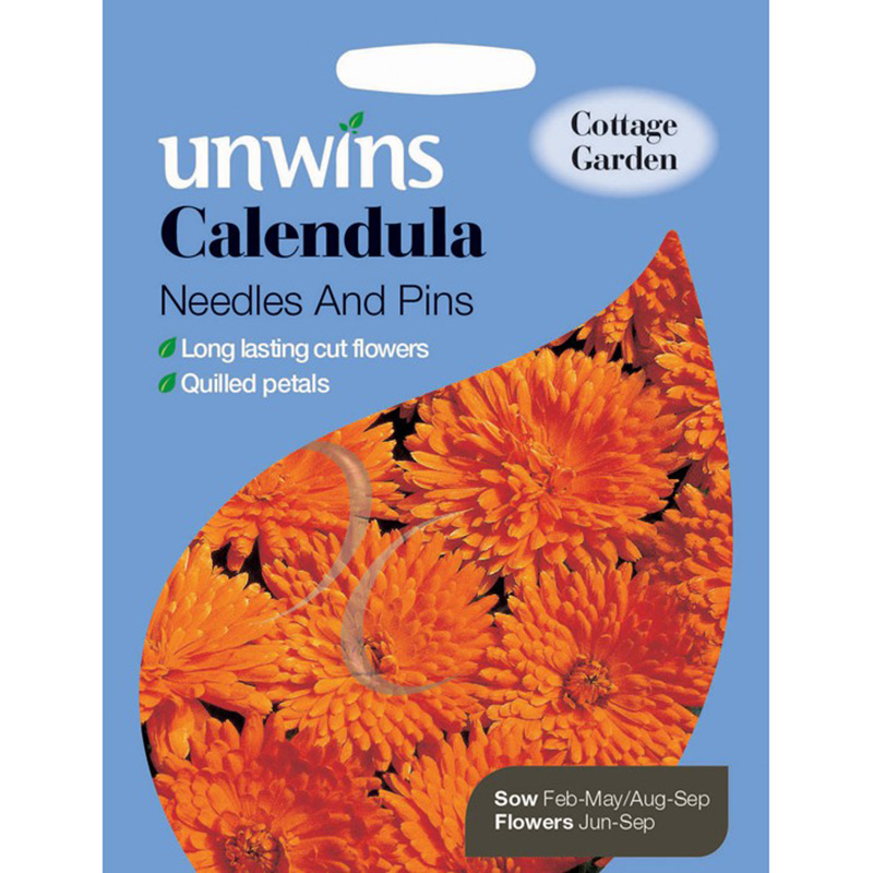 Picture of Calendula Needles and Pins Seeds