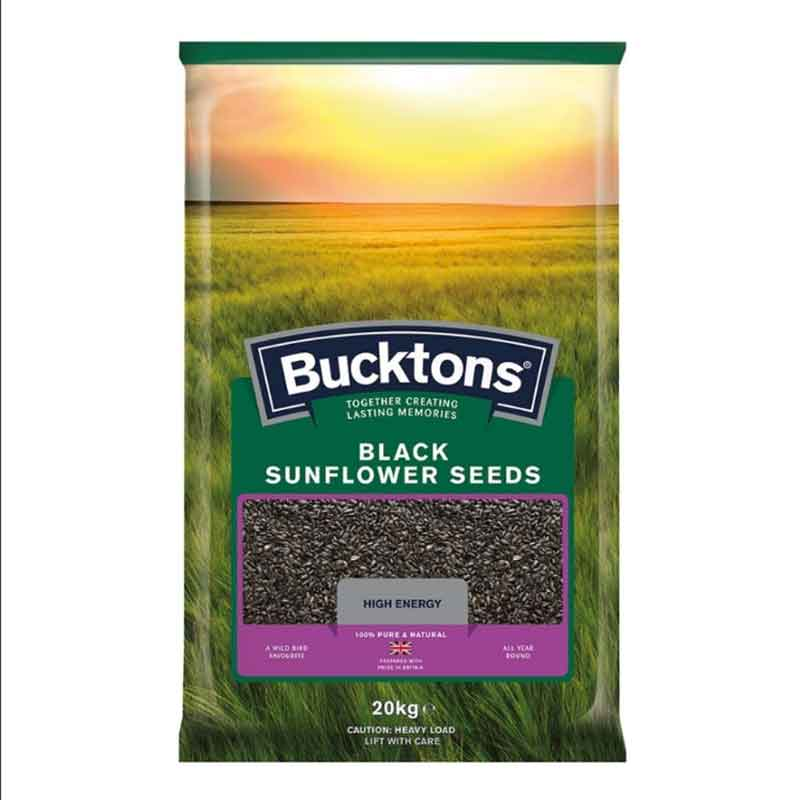 Picture of Bucktons Black Sunflower Seeds
