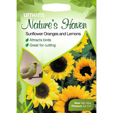 Picture of Unwins Nature's Heaven Sunflower Oranges & Lemons