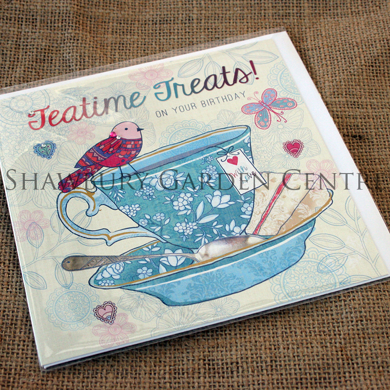 Picture of Jackie Bellamy Designs Jewel 'Teatime Treats' Birthday Card