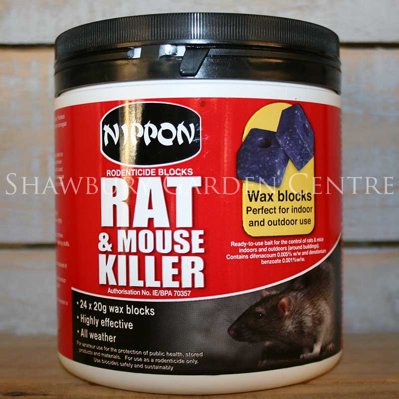 Picture of Nippon Rat & Mouse Killer Rodenticide Wax Blocks