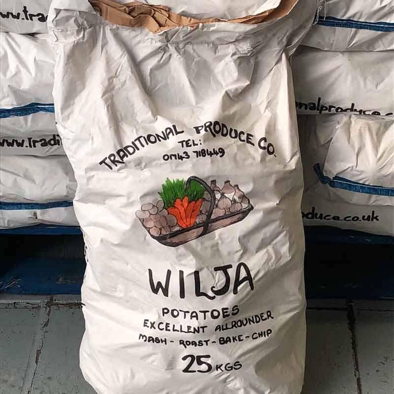 Picture of Home Grown Wilja Potatoes