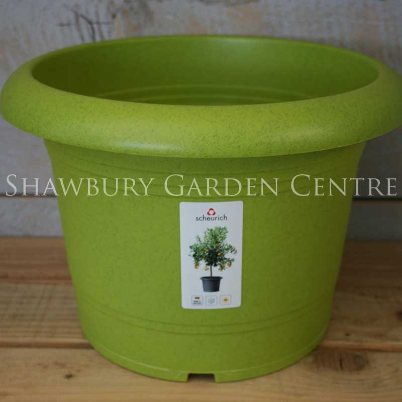 Picture of Scheurich Living Green Plastic Plant Pot