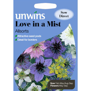 Picture of Unwins 'Allsorts' Love in a Mist Seeds