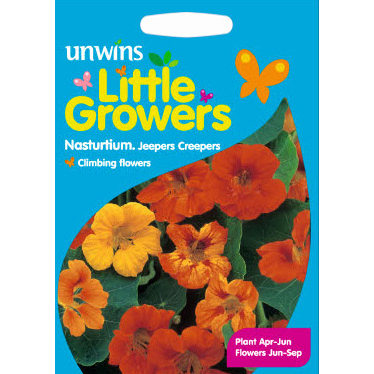 Picture of Unwins Little Growers 'Jeepers Creepers' Nasturtiums