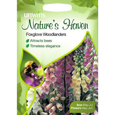 Picture of Unwins Foxglove Woodlanders