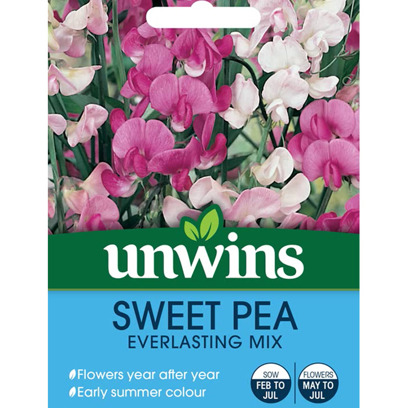 Picture of Unwins 'Everlasting Mix' Sweet Pea Seeds