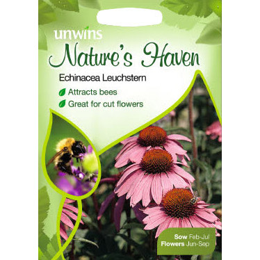 Picture of Unwins Nature's Haven Echinacea Leuchtstern Seeds