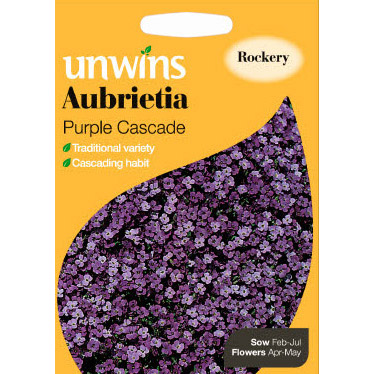 Picture of Unwins 'Purple Cascade' Aubrietia Seeds