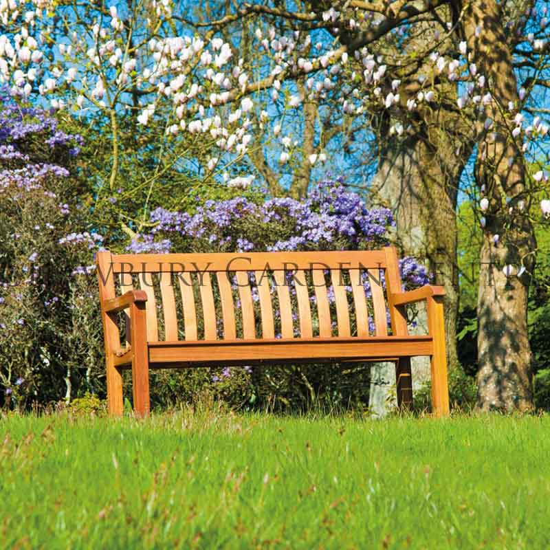 Picture of Alexander Rose Cornis St George Wooden Garden Benches