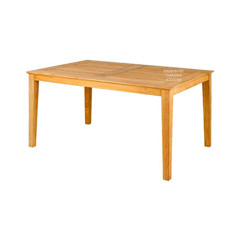 Picture of Alexander Rose Roble Rectangular Garden Table