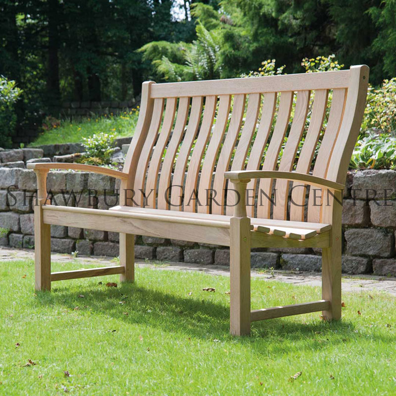 Picture of Alexander Rose Roble Santa Cruz High Back Garden Bench