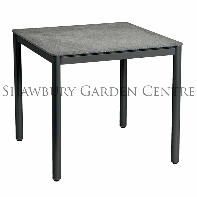 Picture of Alexander Rose Portofino Lite Square Stone Top Table