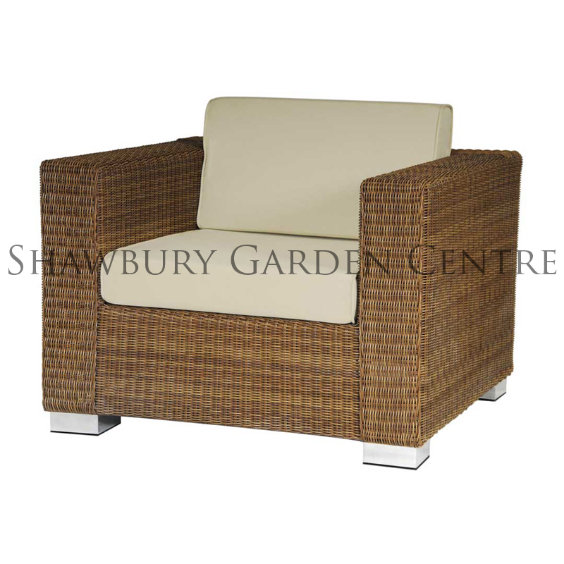 Picture of Alexander Rose San Marino Lounge Chair with Cushions