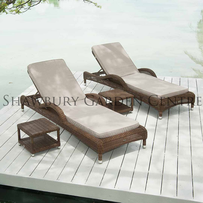 Picture of Alexander Rose San Marino Sunbed with Cushion