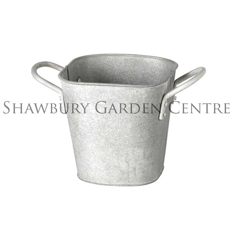Picture of Parlane Zinc Planter with Handles