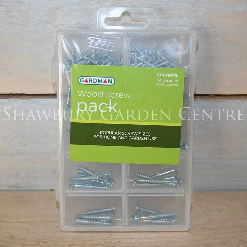 Picture of Gardman Wood Screws Assorted Pack