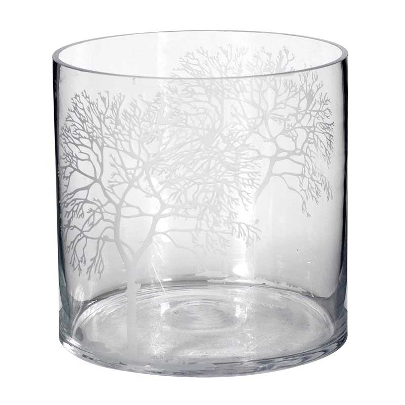 Picture of Trees Glass Lantern