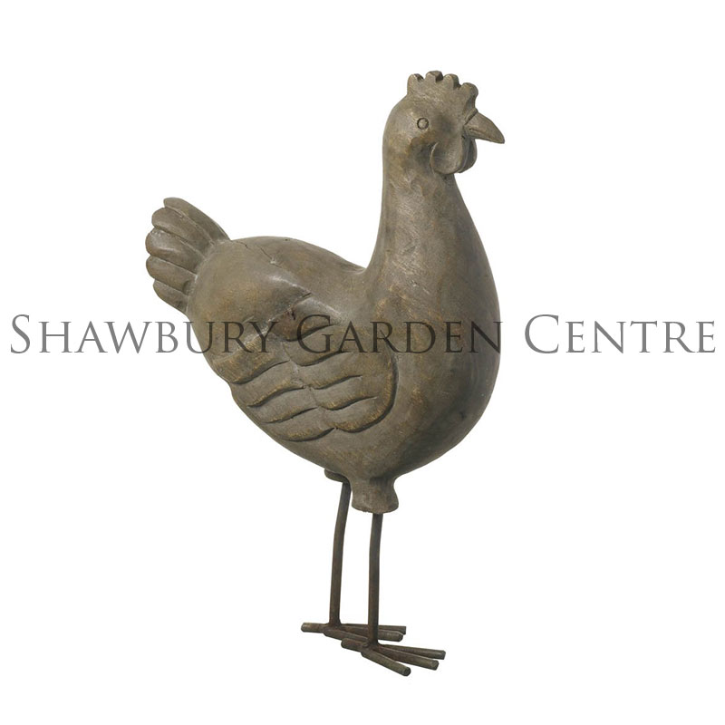 Picture of Parlane Wooden Cockerel on Metal Legs