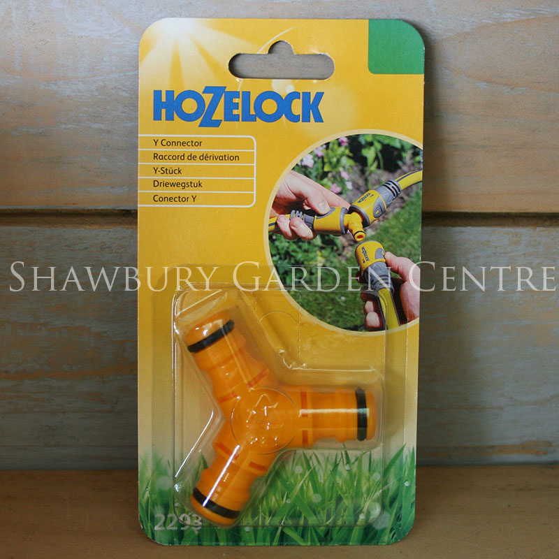 Picture of Hozelock Garden Hose Y Connector