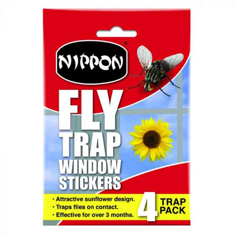 Picture of Nippon Sunflower Window Sticker Fly Trap