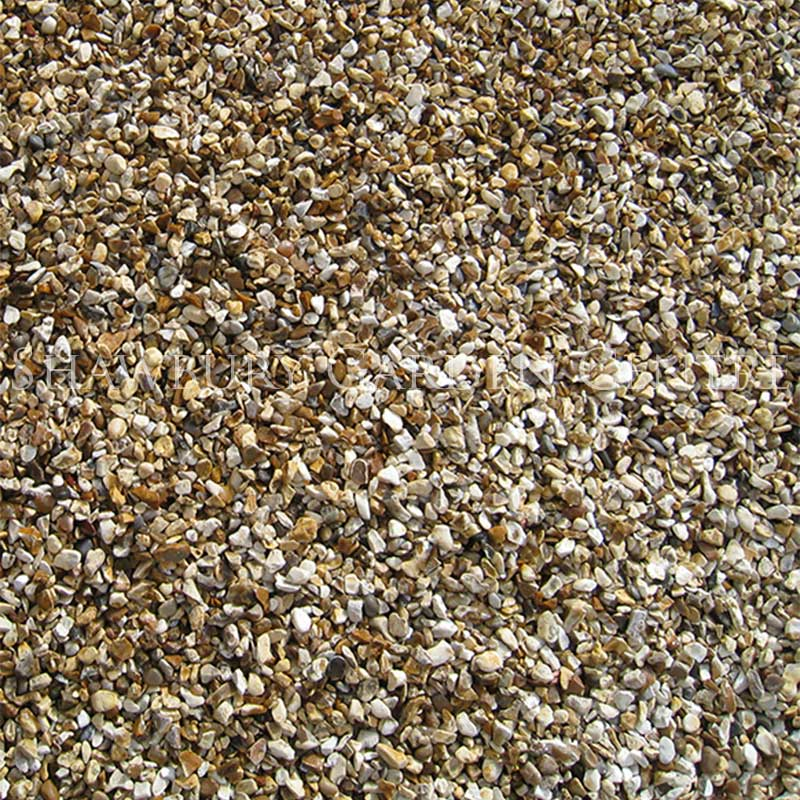 Picture of 10mm Gold Shingle Garden Gravel