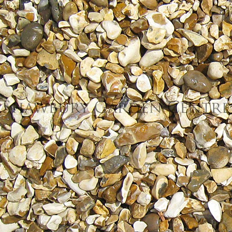 Picture of 20mm Gold Shingle Garden Gravel