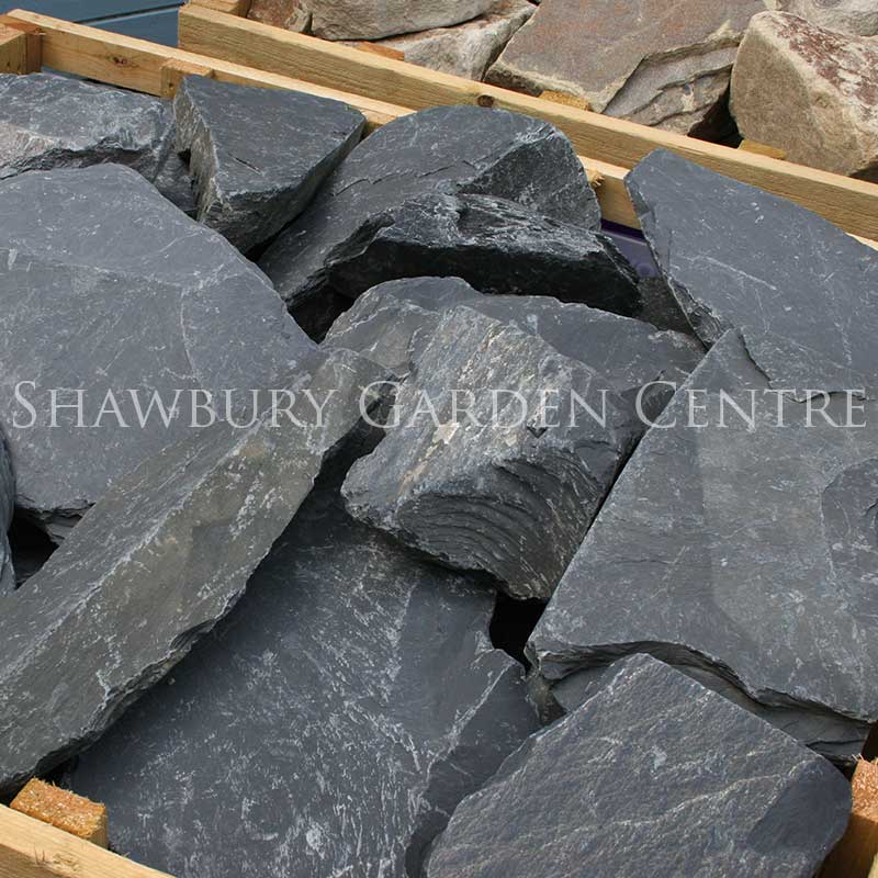 Picture of Black Slate Rockery Stone