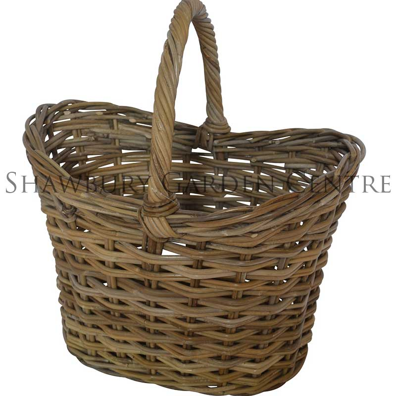 Picture of Glenweave Oval Tall Basket with Handle
