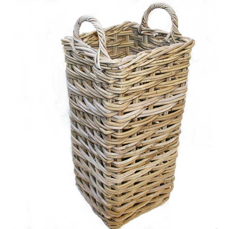 Picture of Tall Square Umbrella Basket with Handles