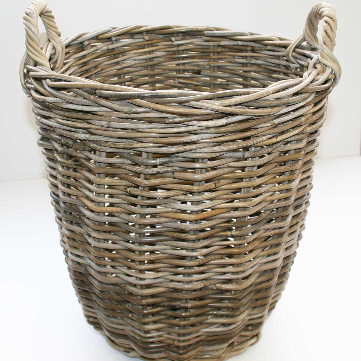 Picture of Glenweave Woven Round Basket with Handles