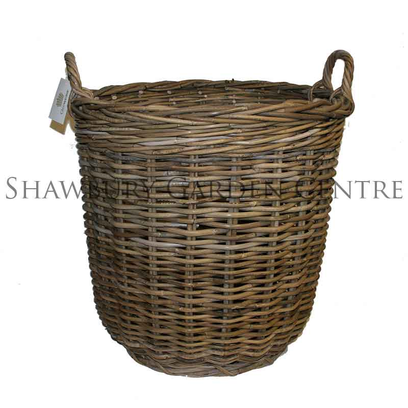Picture of Glenweave Round Log Basket with Handles