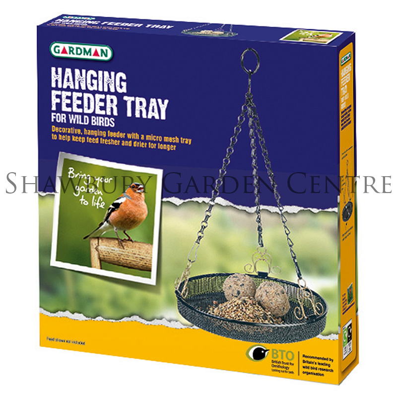 Picture of Gardman Hanging Garden Bird Feeder Tray