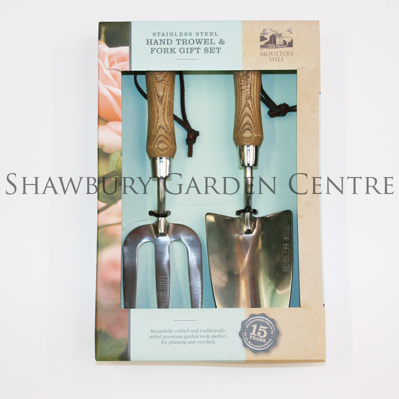 Picture of hand trowel fork gift set for Gardening tools gift set
