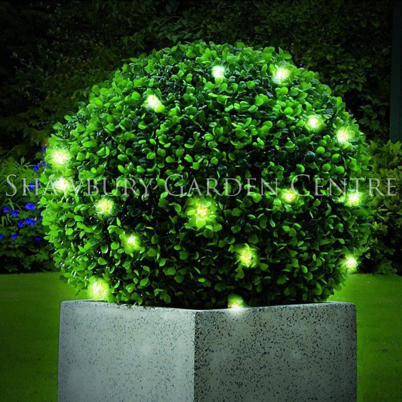 Picture of Gardman Leaf Effect Topiary Ball with LED Lights