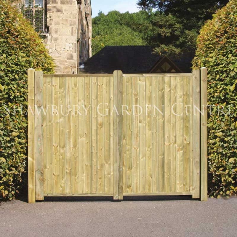 Picture of Wooden Garden Gates
