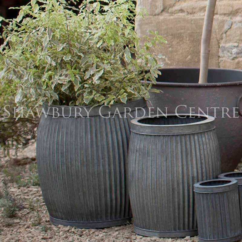 Exceptional Picture Of Metal Garden Pots U0026 Planters