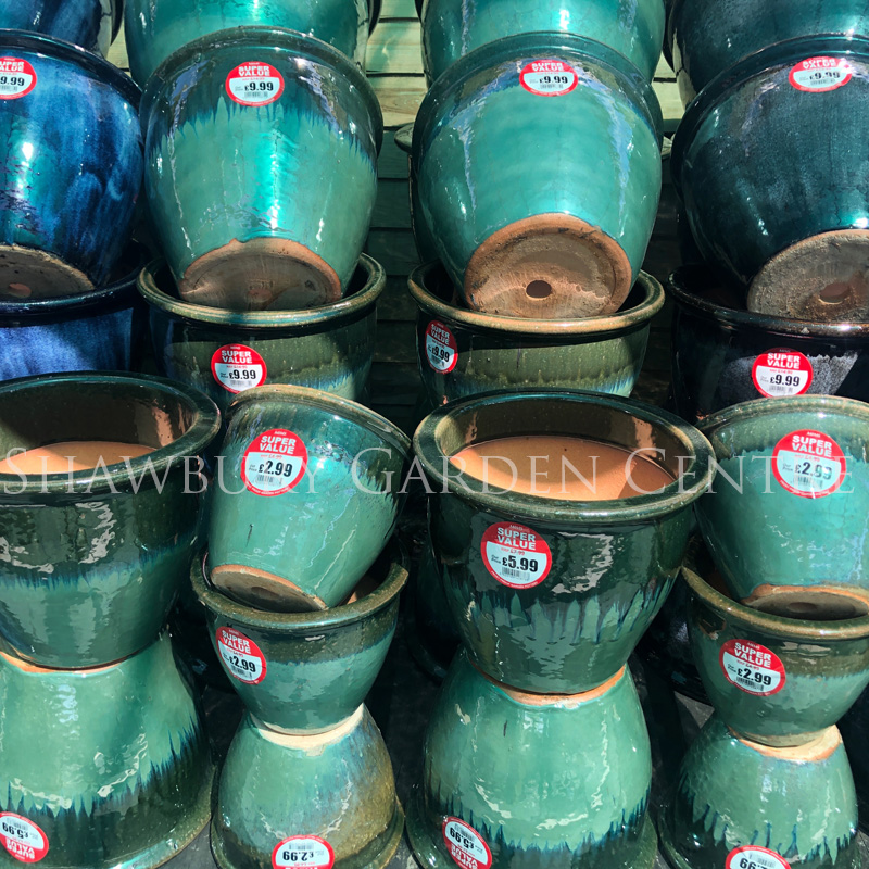 Picture of Glazed Pots