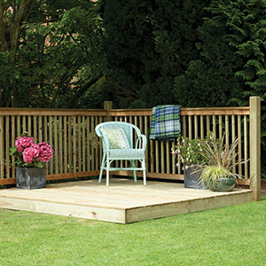 Picture of Garden Decking